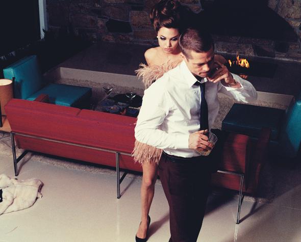 Brad Pitt amp Angelina Jolie fotosessija W Magazine urnl